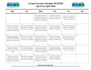 April water