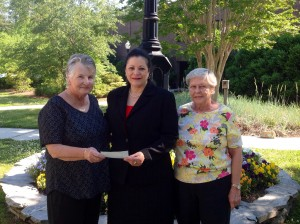 BSL Garden Club Donation on BCC Campus 2014
