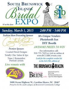 Bridal Expo flier 2015
