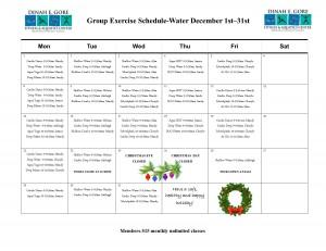 December Water