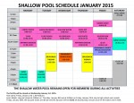 January 2015 shallow pool sched