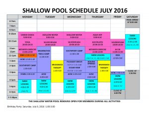 July 2016 shallow pool sched