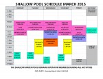 March 2015 shallow pool sched