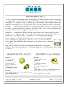 March Newsletternutrition