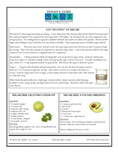March Newsletternutrition