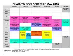 May '16 shallow pool sched