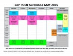 May 2015 lap pool sched