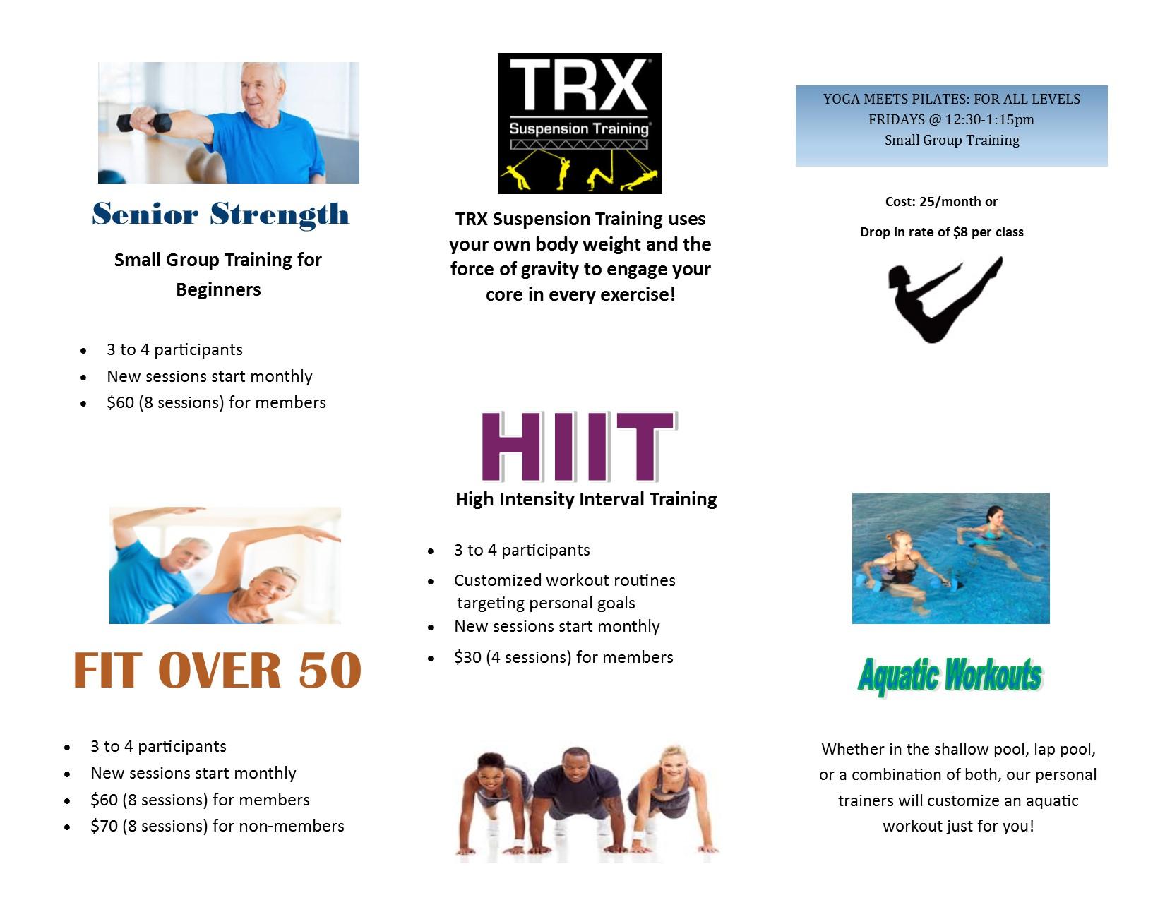 NEW Personal Training Tri-fold #2