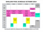 October 2014 shallow pool sched