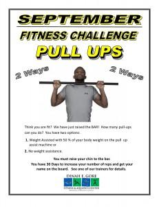 Pull Up Challenge. (September)pub