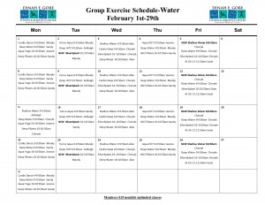 Revised February Water