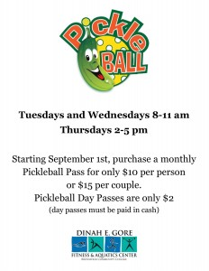 Sept Pickleball