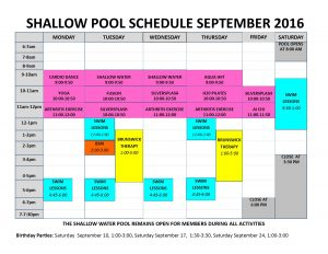 September 2016 shallow pool sched