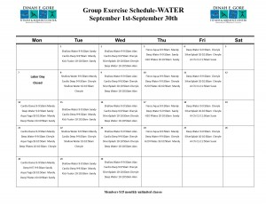 September Water