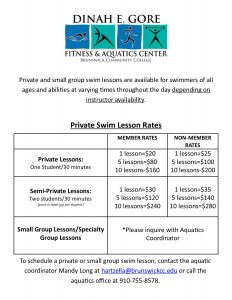 USE 2016 Private Lesson Rates