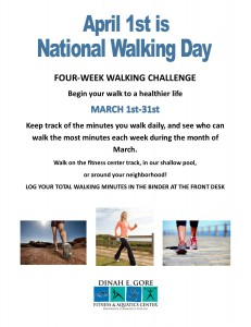 national walking day flyer