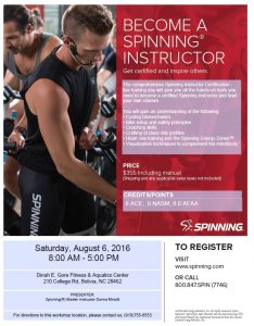 spinning workshop