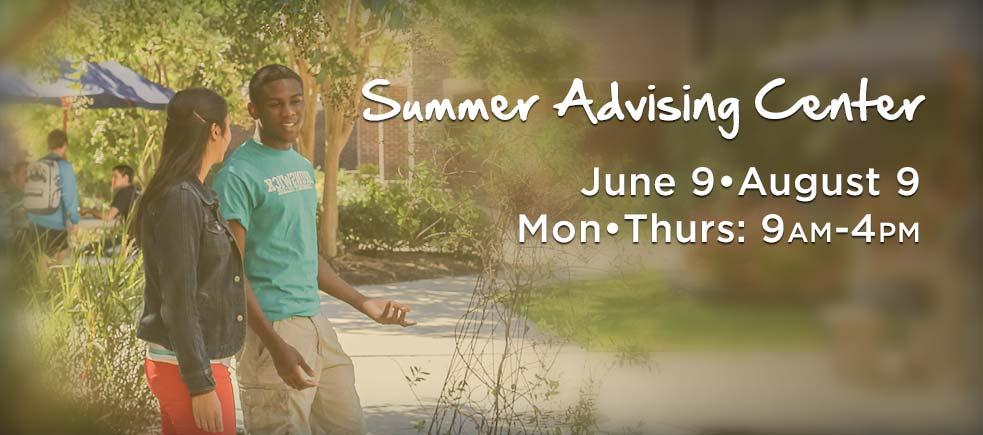Summer-Advising